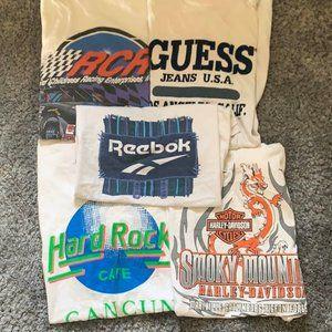 Tops - Vintage T-Shirt Bundle 5 Random Tees Mystery Box